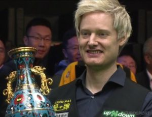 Relentless Neil Robertson claims second China Open title