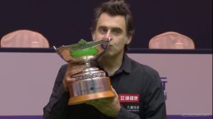 Ronnie O'Sullivan sails to a hat-trick of Shanghai Masters titles