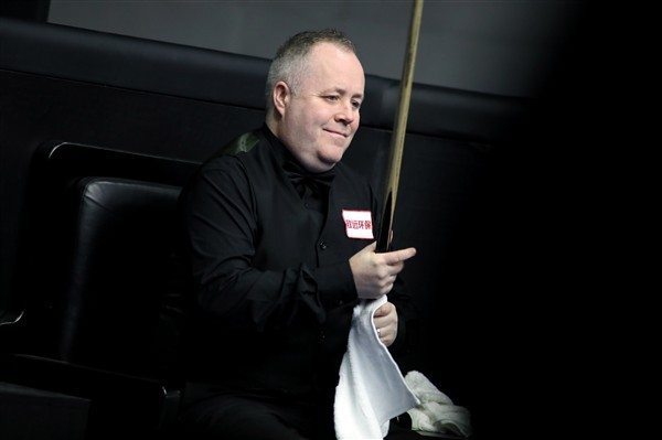 John Higgins in action (credit:ImagineChina/SIPA USA/PA Images)
