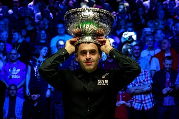 Ronnie O'Sullivan is the defending champion (credit:Matchroom Sport)