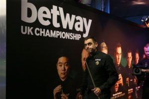 Win tickets to the 2019 Betway UK Championship Semi-Finals and Final