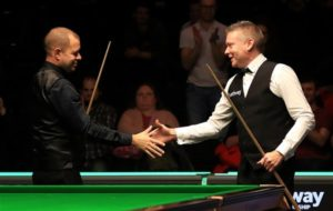 Barry Hawkins swoops to a magical maximum break at the UK Championship