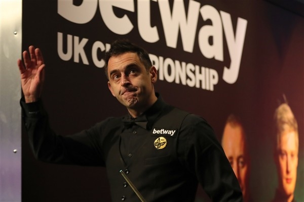 Ronnie O'Sullivan enjoyed a routine start to his title defence (credit: Richard Sellers/PA Images)