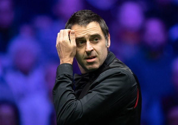 Defending champion Ronnie O'Sullivan looks on (credit:Dave Howarth/PA Images)