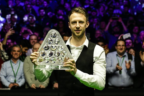 Judd Trump is the defending champion (credit:World Snooker)