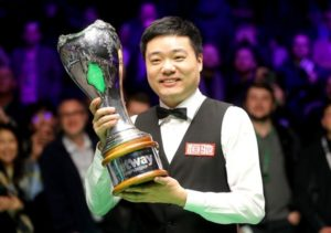 Ding Junhui ends decade-long wait to complete UK Championship treble
