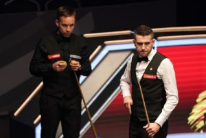 Ali Carter sees off Mark Selby at The Masters as Joe Perry downs Ding Junhui