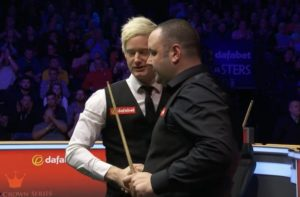 Stephen Maguire stuns Neil Robertson with miraculous Masters comeback
