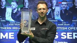 Judd Trump holds off Ronnie O'Sullivan to secure Northern Ireland Open hat-trick