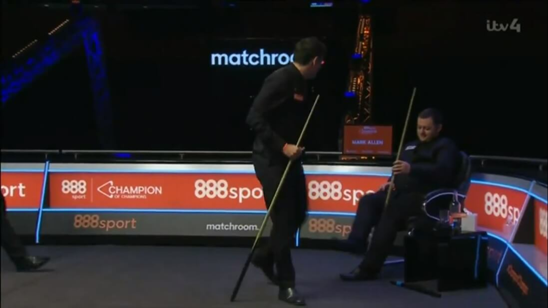 """O'Sullivan """"needs putting back in his place"""" admits Allen after fiery Champion of Champions clash"""