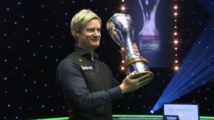 Robertson edges out Trump in late-night thriller to complete UK Championship hat-trick
