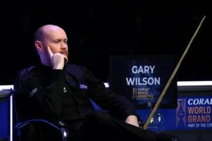 """Gary Wilson admits he is """"totally gone"""" following Championship League foul against John Higgins"""