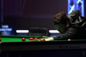 John Higgins and Yan Bingtao set up final show-down at The Masters