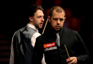 Barry Hawkins topples Judd Trump at the Tour Championship