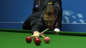 Judd Trump leads David Gilbert to close in on World Championship quarter-finals